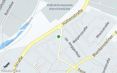 Kartendarstellung der Adresse Bismarckstr.72