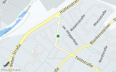 Kartendarstellung der Adresse Hüttenstr.8