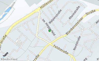 Kartendarstellung der Adresse Im Heggerfeld16