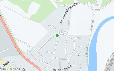 Kartendarstellung der Adresse Jenaer Straße2