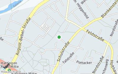 Kartendarstellung der Adresse Oststr.1