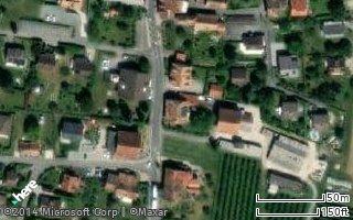 Standort von Borboen in Denges