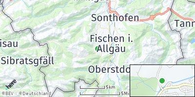 Google Map of Obermaiselstein