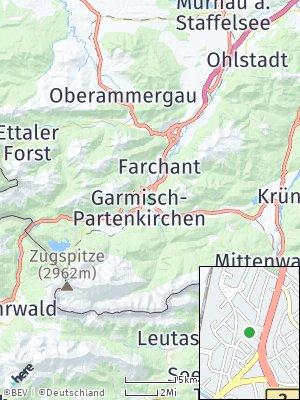 Here Map of Garmisch-Partenkirchen