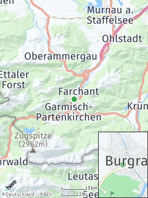 Here Map of Burgrain