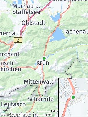 Here Map of Wallgau