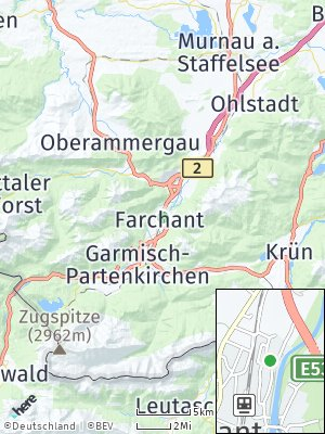 Here Map of Farchant