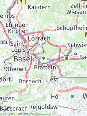 Here Map of Grenzach-Wyhlen