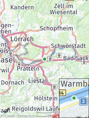 Here Map of Warmbach