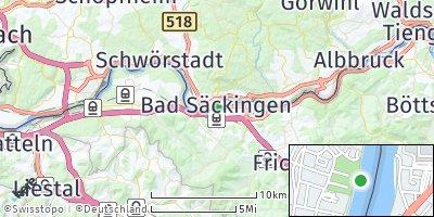 Google Map of Bad Säckingen