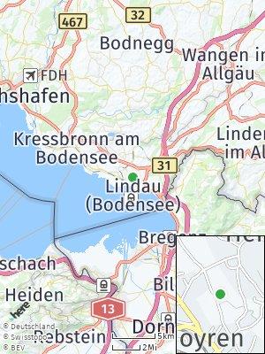 Here Map of Hoyren