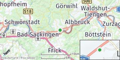 Google Map of Laufenburg