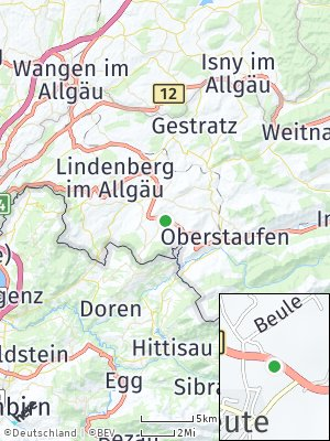 Here Map of Oberreute