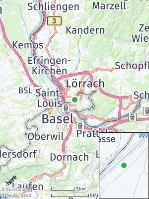 Here Map of Weil am Rhein