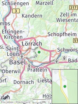 Here Map of Inzlingen