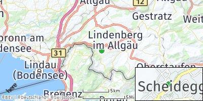 Google Map of Scheidegg