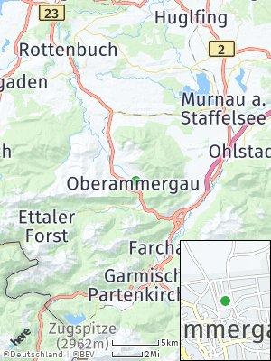 Here Map of Oberammergau