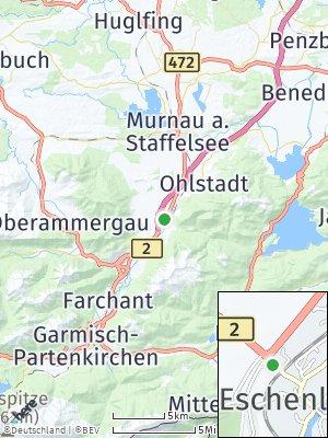 Here Map of Eschenlohe