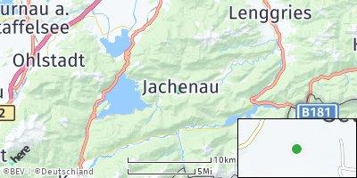 Google Map of Jachenau