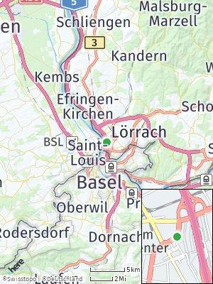 Here Map of Friedlingen