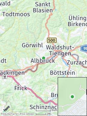 Here Map of Albbruck