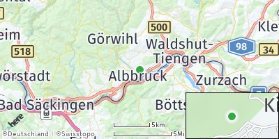 Google Map of Albbruck