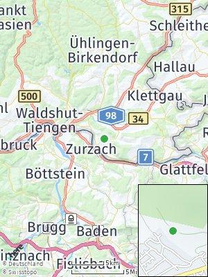 Here Map of Küssaberg