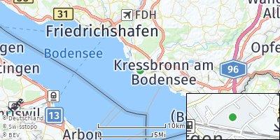 Google Map of Langenargen