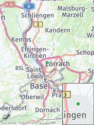 Here Map of Haltingen