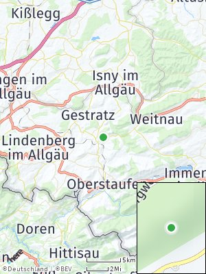 Here Map of Grünenbach