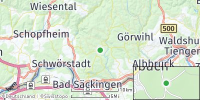 Google Map of Rickenbach