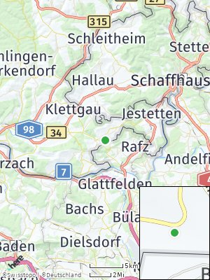Here Map of Dettighofen