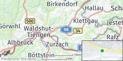 Google Map of Lauchringen