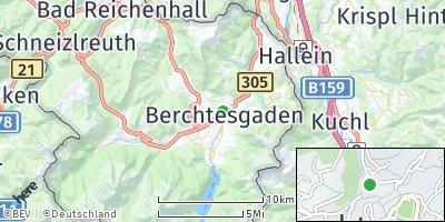 Google Map of Berchtesgaden