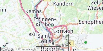 Google Map of Eimeldingen