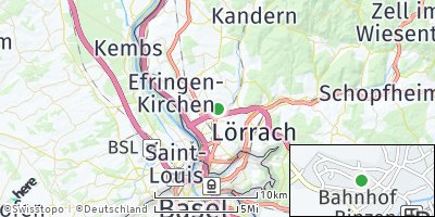 Google Map of Binzen