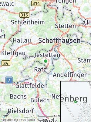 Here Map of Lottstetten