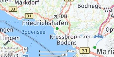 Google Map of Eriskirch
