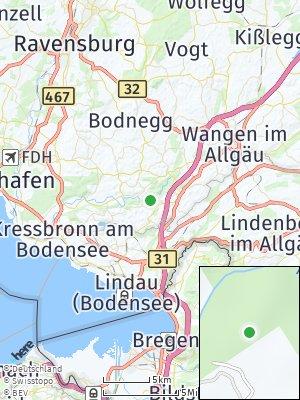 Here Map of Achberg bei Lindau