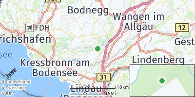 Google Map of Achberg bei Lindau