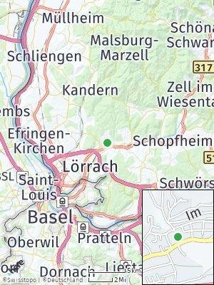 Here Map of Hauingen