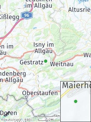 Here Map of Maierhöfen