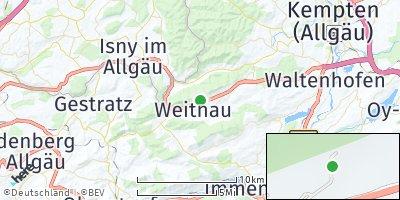 Google Map of Weitnau
