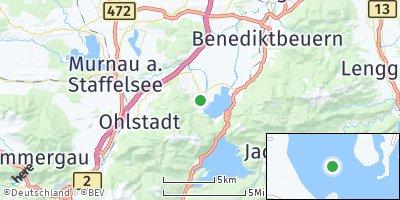 Google Map of Schlehdorf