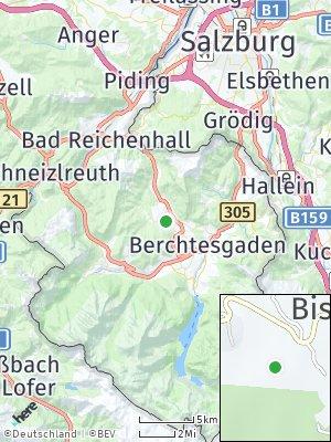 Here Map of Bischofswiesen