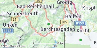 Google Map of Bischofswiesen