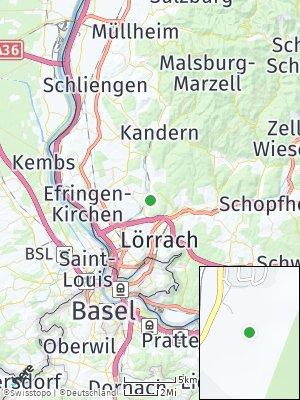 Here Map of Wittlingen