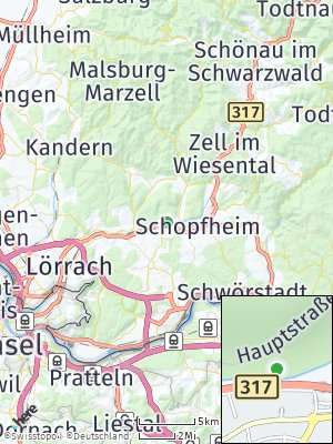 Here Map of Maulburg