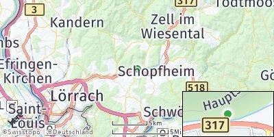 Google Map of Maulburg