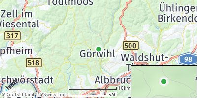 Google Map of Görwihl
